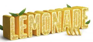 Lemonade 3D text